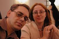 Катя и Юра Ивицкие